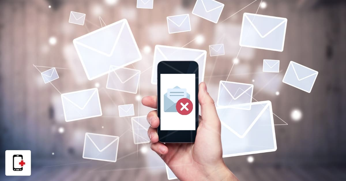 smartphone e-mail problem